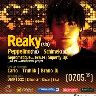 Peppelino - Live at metro club sala Slovakia (2009.05.07)