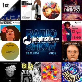 DEEPINSIDE RADIO SHOW 035 (DJ Spen Artist of the week)
