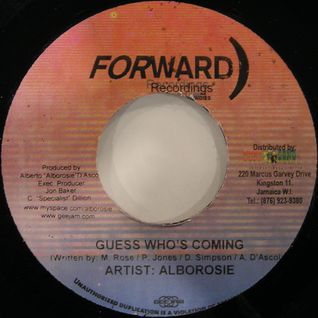 "Alborosie - Guess Who's Coming / Version (7"")"