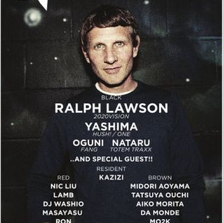 Ralph Lawson - Live @ Greyhound, Module, Tokyo (22-02-2013)