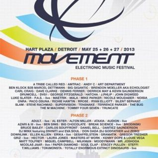 Silent Servant @ Movement Festival Detroit - Hart Plaza Day 3 (27-05-2013)