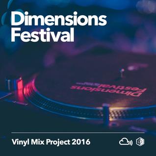 Dimensions Vinyl Mix Project 2016: Dj Jeff