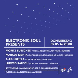 Ludwig Rausch @Rote Sonne, Electronic Soul, 9.6.16