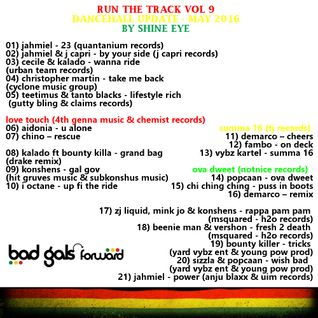 run the track vol 9... dancehall update may 2016
