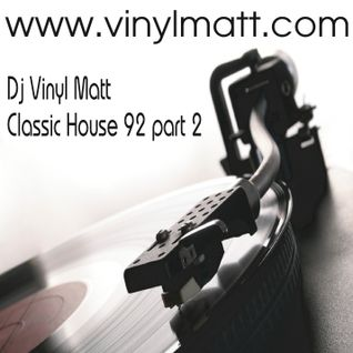 Vinyl Matt 92 Mix Part Two