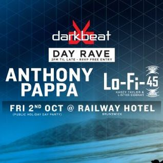 Anthony Pappa - Live at Darkbeat Day Rave, The Railway Hotel, Brunswick, Australia (02-10-2015)