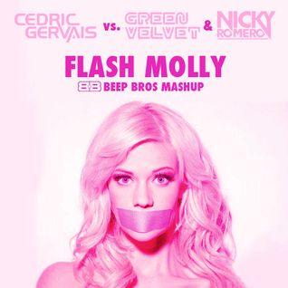 Green Velvet, Nicky Romero vs. Cedric Gervais - Flash Molly (Beep Bros Mashup)