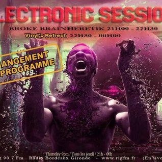 Electronic Session[09.10.2014]BROKE HERETIK AURA1/VINYLZ REFRES