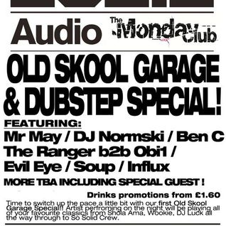Mr. May Presents... Old Skool Garage Special!