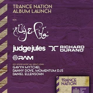 Judge Jules - Live @ Trance Nation Album Launch, Ministry of Sound (London) - 18.04.2014