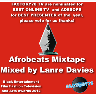 Beffta Awards 2012 - Afrobeats Mix Mixed by Lanre Davies