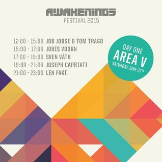 Joseph Capriati - live at Awakenings 2015, Day 1 Area V, Amsterdam - 27-Jun-2015