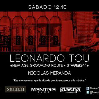 #New Age Grooving Route #244 W/ Leonardo Tou @Mantra Club Lobos 2da Hora Wup