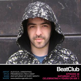 BeatClub By Alex ElVíl @ BeatLounge Radio (#48) 4 YEARS ON AIR!!!!