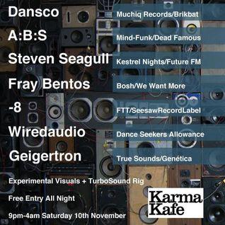 Dansco live@Beta Nov 2012