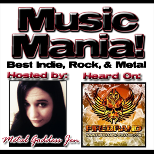 Music Mania with Metal Goddess Jen, January 7 2013