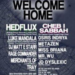 Meta Zen - Welcome Home (Live - 9.15.2012)