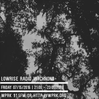LowRise Radio w/Chrono 07/15/2016