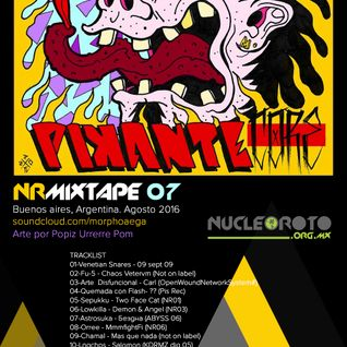 NRMixtape07 - Pikante Core - Morphoaega - Buenos Aires, Argentina. Agosto 2016