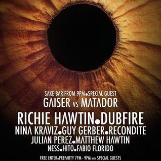 Gaiser - Live @ Enter.Sake Week 11, Space (Ibiza) - 11.09.2014
