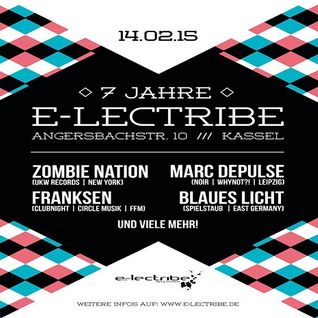 Blaues Licht @ 7 Jahre e-lectribe - Club e-lectribe Kassel - 14.02.2015