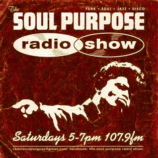 Jim Pearson Presents The Soul Purpose Radio Show Radio Fremantle 107.9FM 13.08.16