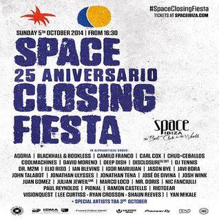 Jonh Talabot - Live At Space Closing Fiesta 2014, Terrace (Ibiza) - 05-Oct-2014