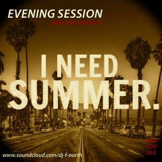 I NEED SUMMER - Evening Session mixed by F.NORTH