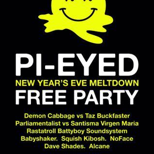 Squish Kibosh Live @ Pi-Eyed NYE 2012