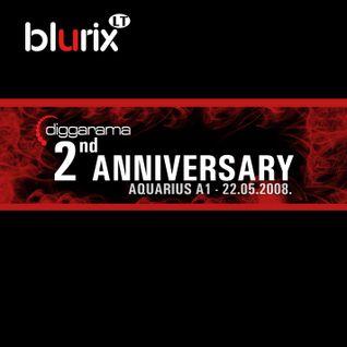 Live @ Diggarama - 2nd Anniversary (Aquarius, 22.05.2008)