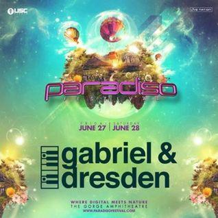 Gabriel & Dresden - Live @ Paradiso Festival (United States) - 28.06.2014