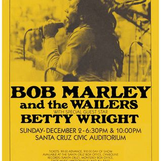 Bob Marley and the Wailers - Santa Cruz, Ca 12-2-1979 Late Show Full Soundboard