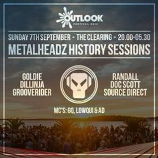 Grooverider [History Set] - Outlook Festival, 07.09.14.