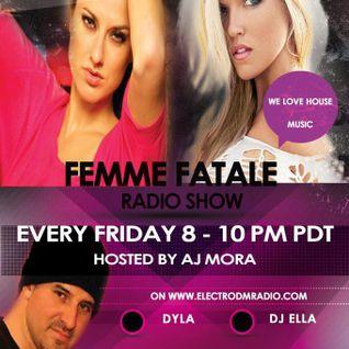 Femme Fatale Radio Show 8/31/2012