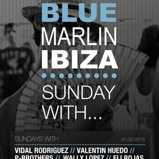 Wally Lopez - Live @ Blue Marlin Opening Party (Ibiza) - 31.03.2013
