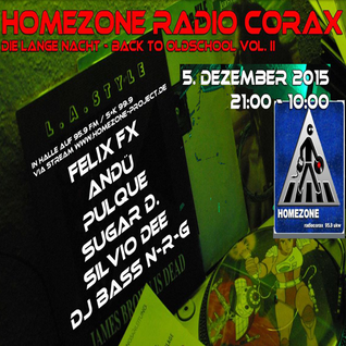 Live-DJ-Sets@BACK TO OLDSCHOOL VOL.II auf Radio Corax (05.12.2015)