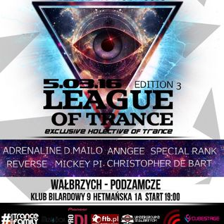 Adrena Line - Live @ League Of Trance Edition 003, Club 9, Wałbrzych, Poland (05-03-2016)