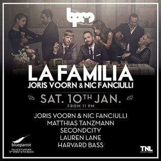 Matthias Tanzmann  - Live At La Familia, Blue Parrot (The BPM Festival 2015, Mexico) - 10-Jan-2015