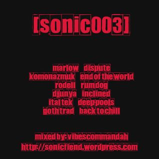 vibescommandah [sonic003] Sonic Fiend
