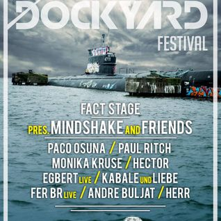Monika Kruse - live at Dockyard Festival, FACT Stage, NDSM Docklands, ADE 2015 - 17-Oct-2015