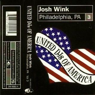 Josh Wink - United DJs Of America Volume 3 - Philadelphia - 1995