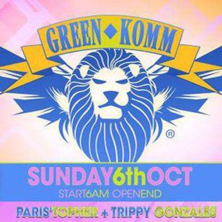 T&T (Paris'Topher vs Trippy Gonzales) Live @ GreenKomm 06-10-2013