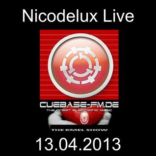 Nicodelux Live @ CubaseFM The K-Mel Show 13.04.2013