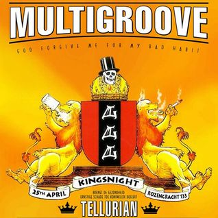 DJ Tellurian @ Multigroove Kings Night 2014