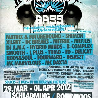 Hybrid Minds (AudioPorn Records) @ Powder and Bass 2012 Promotion Mix (14.02.2012)