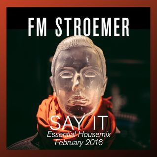 FM STROEMER - Say It Essential Housemix February 2016 | www.fmstroemer.de