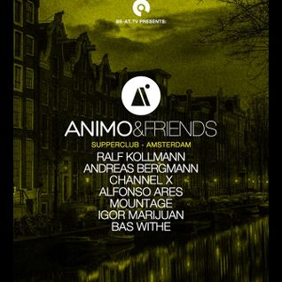 ANDREAS BERGMANN  - LIVE FROM ANIMO & FRIENDS SHOWCASE @ADE 2015 - 14TH OCTOBER
