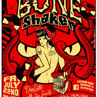 BoneShaker Early Set : DJ Dan Sette July 2011