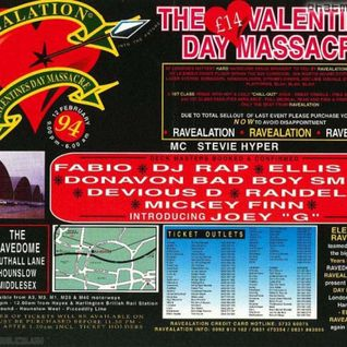 DJ Fabio & DJ Rap w/ Stevie Hyper D - Ravealation - 12.2.94