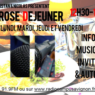 Prose Déjeuner - 21/04/2016 - Radio Campus Avignon